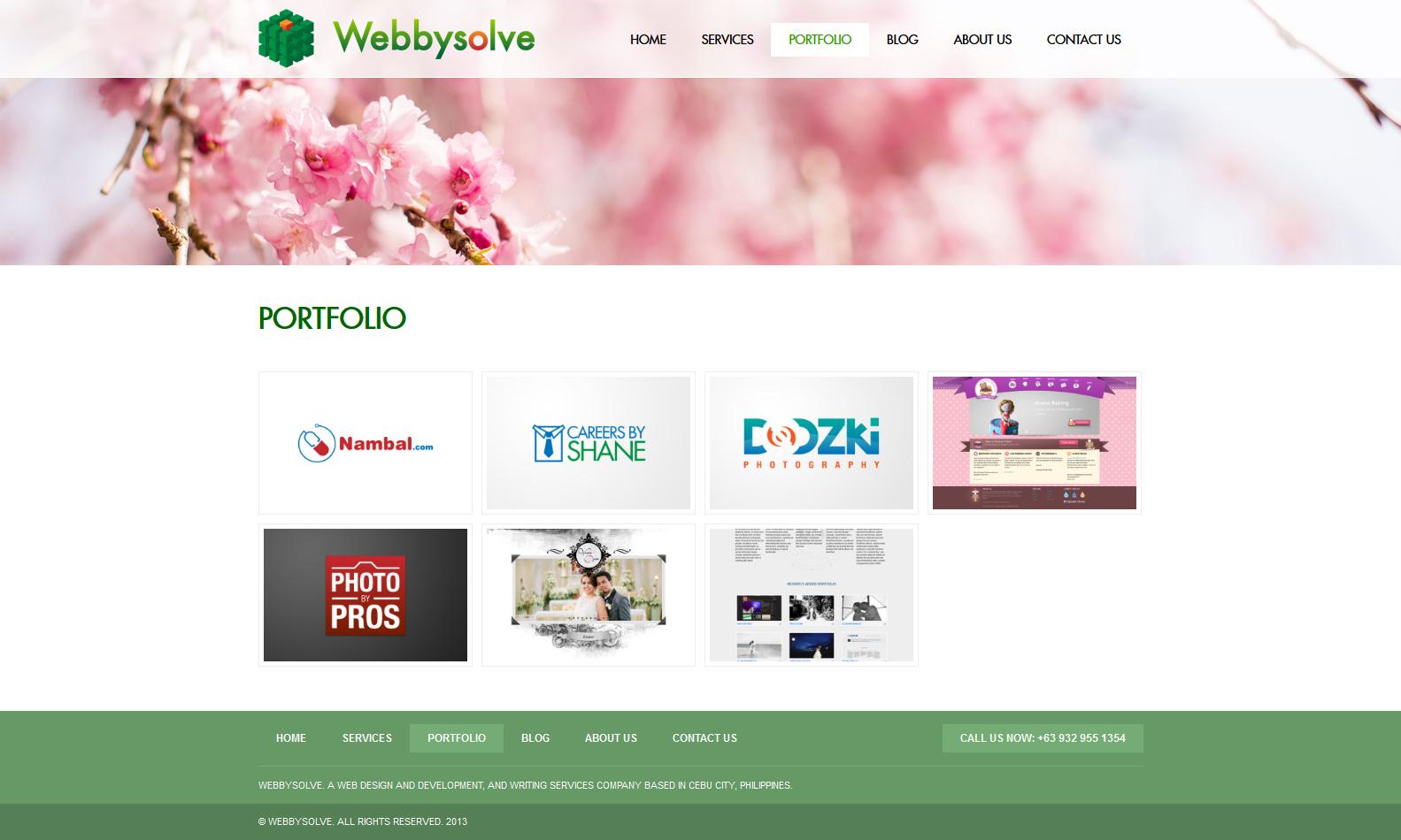 Webbysolve - Portfolio